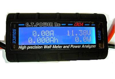 GT High Precision watt meter & Power Analyzer 130A