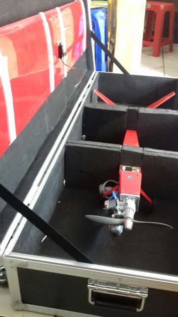flightCase for V-tail Pylon Race